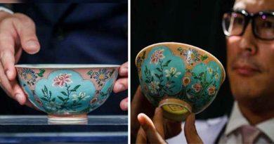 चीन के चिंग राजवंश कटोरा, कटोरा 197 करोड़ रुपए में बिक गया