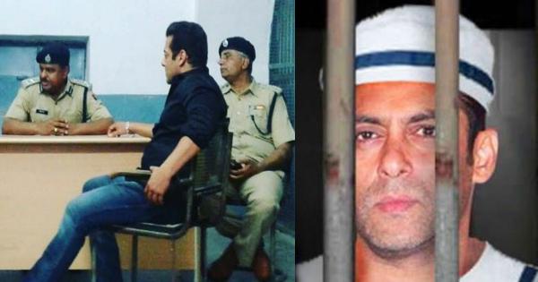 जेल में डीआईजी को देखते ही सलमान को याद आए अपने दादा, कुछ ऐसे दिया उनका परिचय