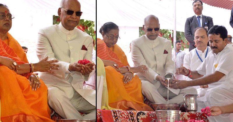 तो क्या दलित होने के कारण राष्ट्रपति कोविंद को नहीं मिला मंदिर में प्रवेश? जानिए क्या है सच..